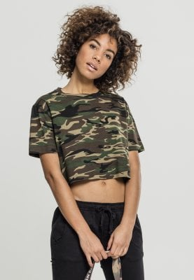 372f1327319 Kort camo oversize t-shirt dam - T-shirts - Damkläder - Dunken.se