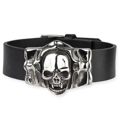 Läderarmband med döskalle - Mummy Skull - Armband - Accessoarer ... 0d62799029f8c