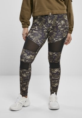 Ladies Camo Tech Mesh Leggings 58