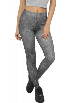 Leggings med jeanslook