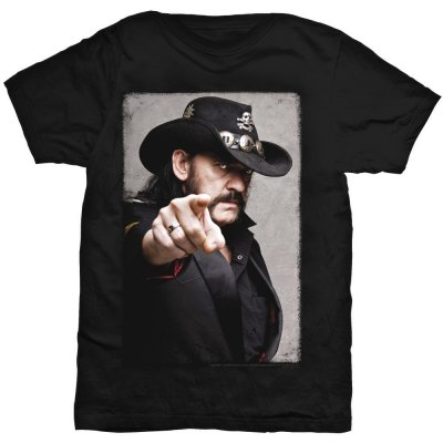 Lemmy t-shirt: Pointing Photo fram