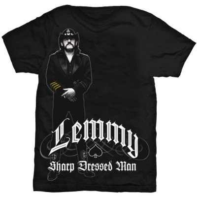 Lemmy t-shirt: Sharp Dressed Man