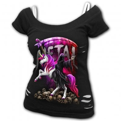Metallicorn 2 i 1 topp