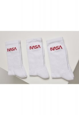 NASA worm logo strumpor 3-pack