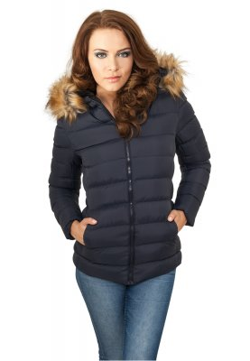 Navy Hooded Jacka