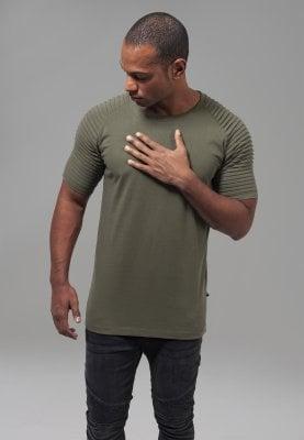 T-shirt med ribbade ärmar 7