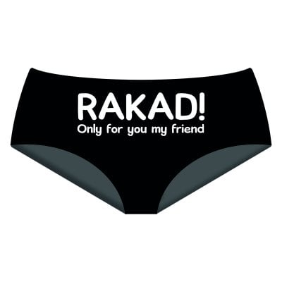 rakad only for you my friend