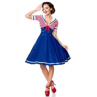 Startsida · Damkläder · Klänningar  Retro marin klänning. Retro marin  klänning 1 b32d2f7e5cfc3