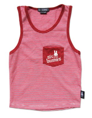 Tanktop red/wh