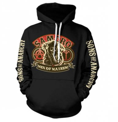 SAMCRO - Men Of Mayhem hoodie fram