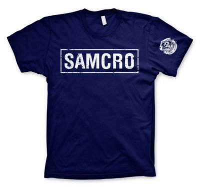 Samcro navy t-shirt
