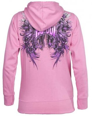 Screaner Tapout rosa hoodie dam