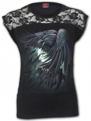 Shadow raven Elegant Top