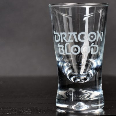 Dragon Blood Shotglas 6-pack
