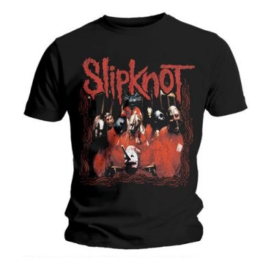 Slipknot t-shirt: Band frame