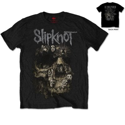 Slipknot t-shirt: Skull group