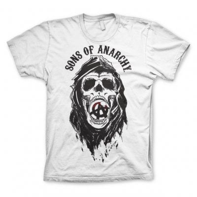 Sons Of Anarchy Draft Skull t-shirt 1
