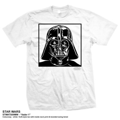 Star Wars t-shirt herr: Darth Vader fram