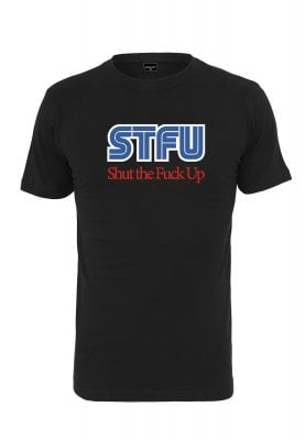 STFU T-shirt (L,black)