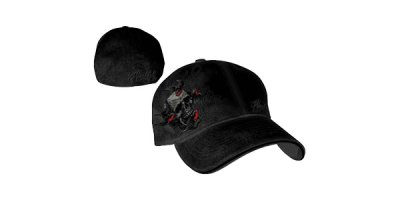 Miami Ink - Black Flexfit Cap Skull W/ Bird