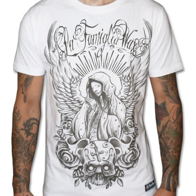 WAX Angels Pray vit t-shirt