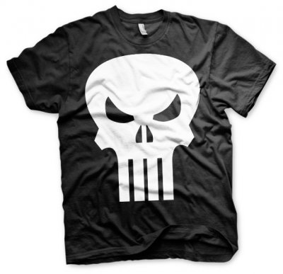 The Punisher Skull T-Shirt fram
