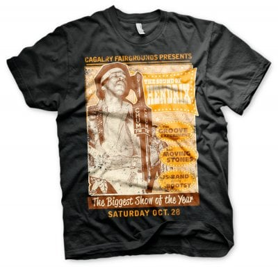 The Sound Of Hendrix Poster T-Shirt 1