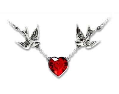"UL17 - ""Swallow Heart"" Halsband"