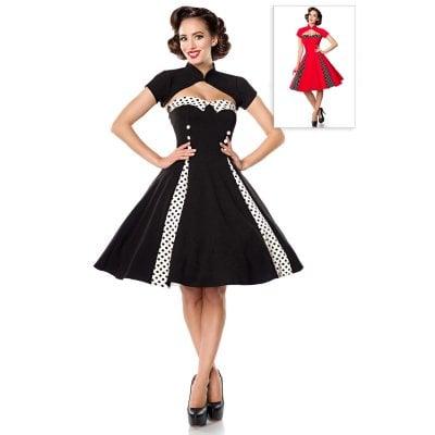 Vintage klänning med Bolerojacka