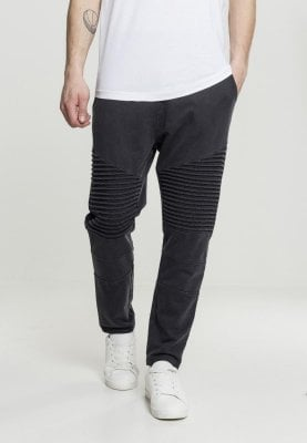 Wash Biker Sweatpants