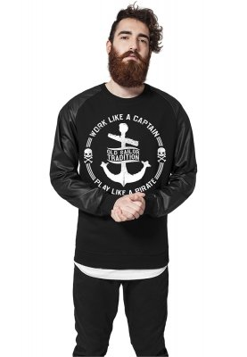 Work Like A Captain Sweatshirt Skinnarmar
