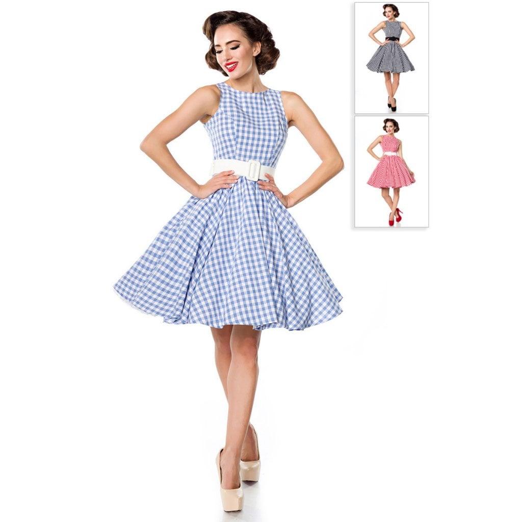 50-tals klänning med bälte - Klänningar - Damkläder - Dunken.se 68c3b62b6740d