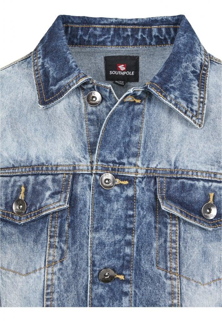 Blå jeansjacka herr Jackor Herrkläder Dunken.se