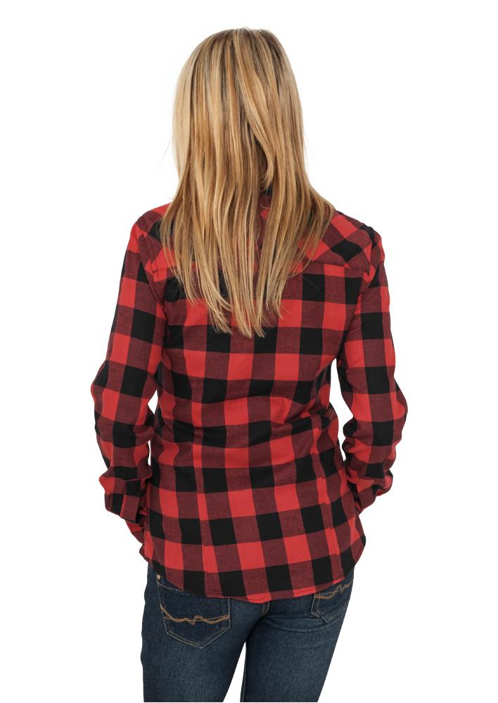e8695ecc225b Rutig skjorta dam - Urban Classics - Märken - Dunken.se