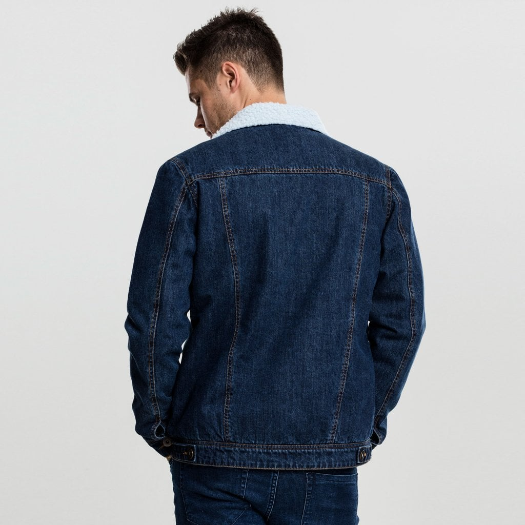 jeans jacka herr fodrad