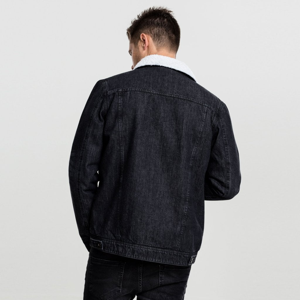 Fodrad jeansjacka herr Dunken.se