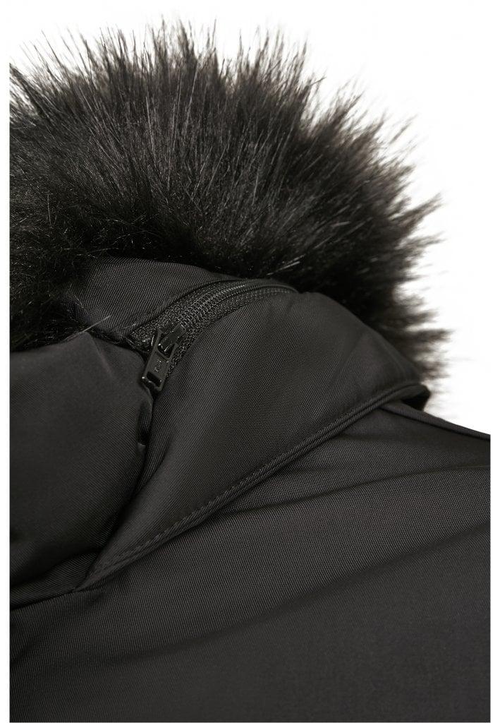 Knälång jacka med pälsfoder dam Vinterjackor Jackor