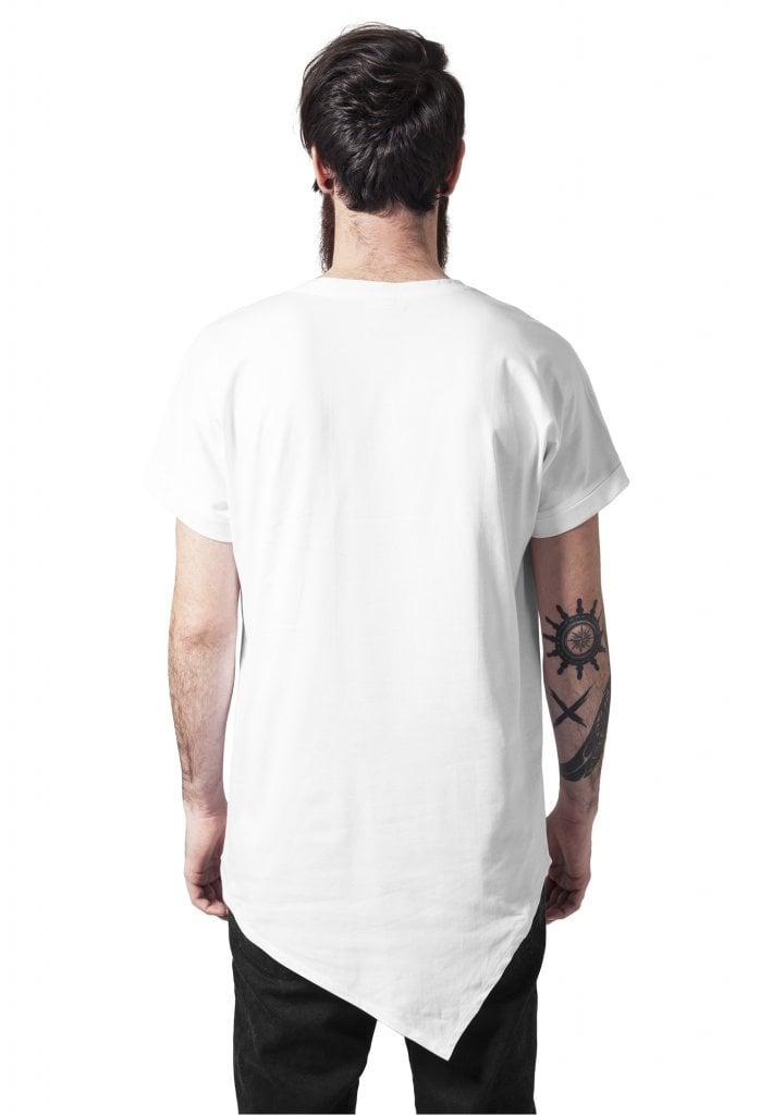 Lång t shirt herr asymetrisk T shirts Herrkläder Dunken.se