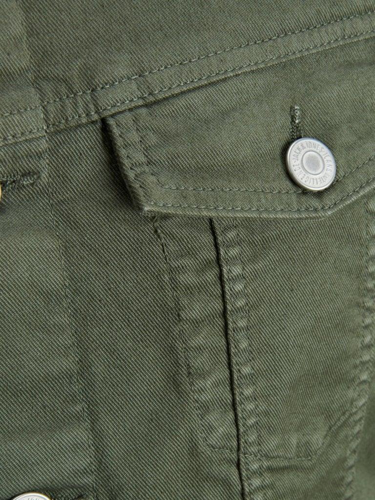 Olivgrön jeansjacka herr Jackor Herrkläder Dunken.se