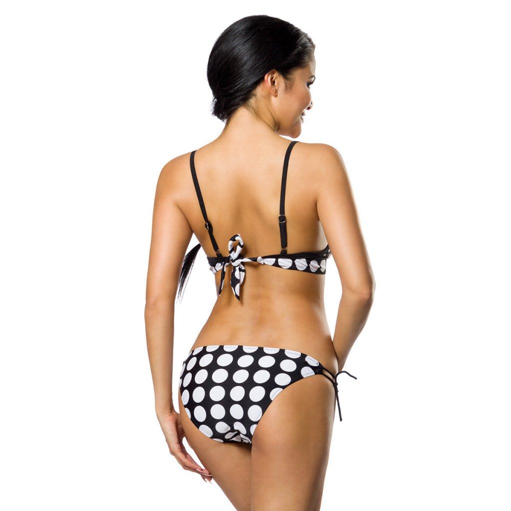 prickig bikini set med tv underdelar badkl der damkl der. Black Bedroom Furniture Sets. Home Design Ideas