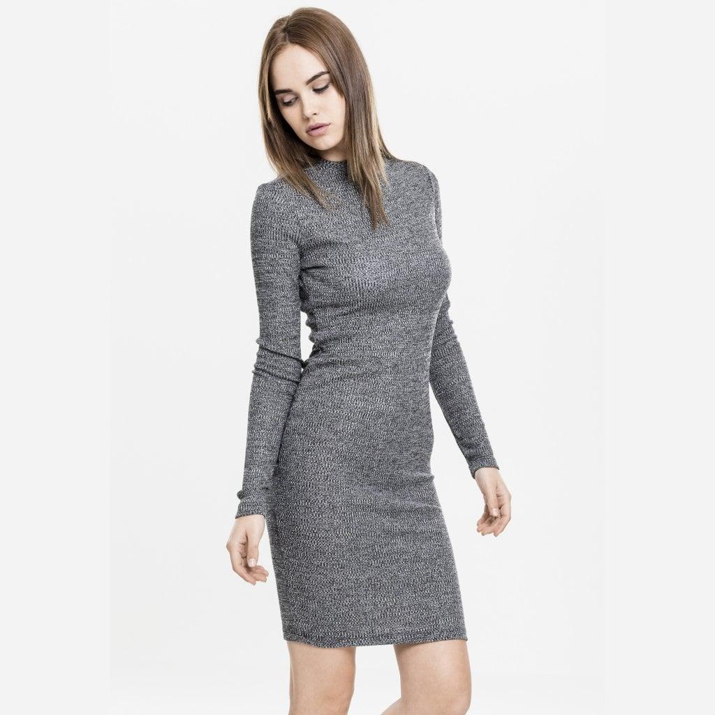 klänning hög hals