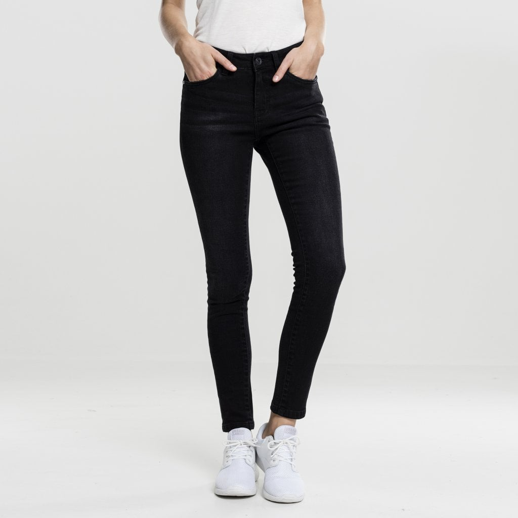 svarta jeans dam