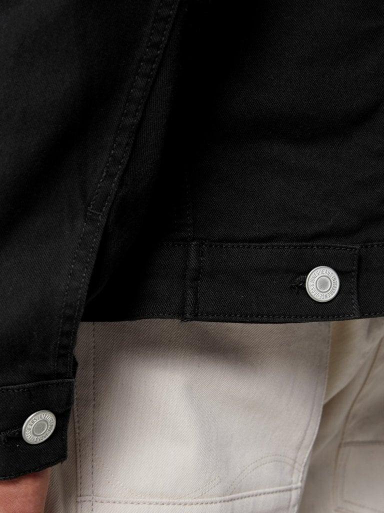 Svart jeansjacka herr Jackor Herrkläder Dunken.se
