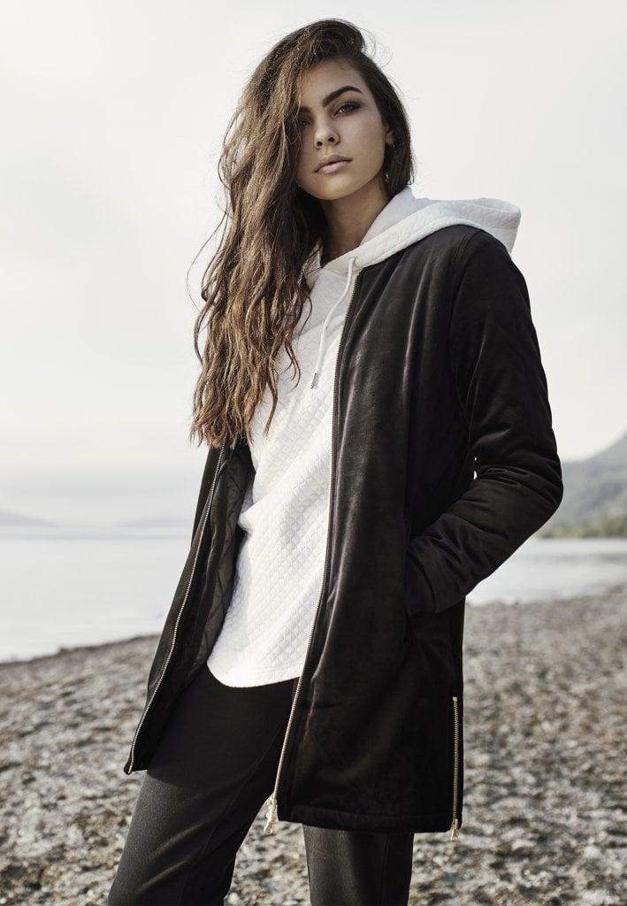 Ladies Long Velvet Jacket Jackor Damkläder Dunken.se