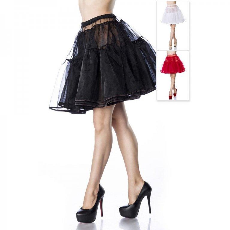 Rockabilly klänning med rött sidenband Dunken.se